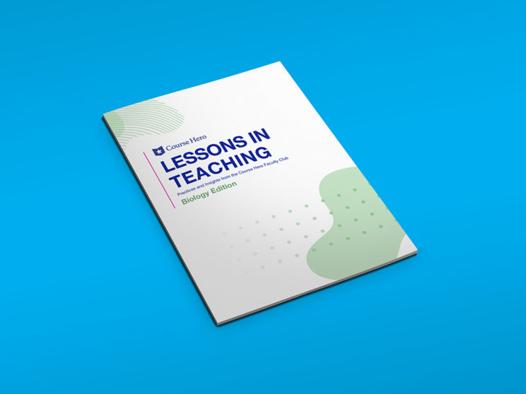 "Course Hero ""Lessons in Teaching"" Book Cover"